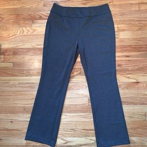 New York & Company Grey Pull On Pants